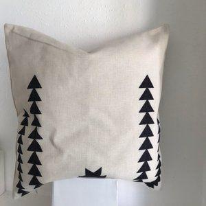 Bohemian / Modern Scandinavian Cotton Throw Pillow
